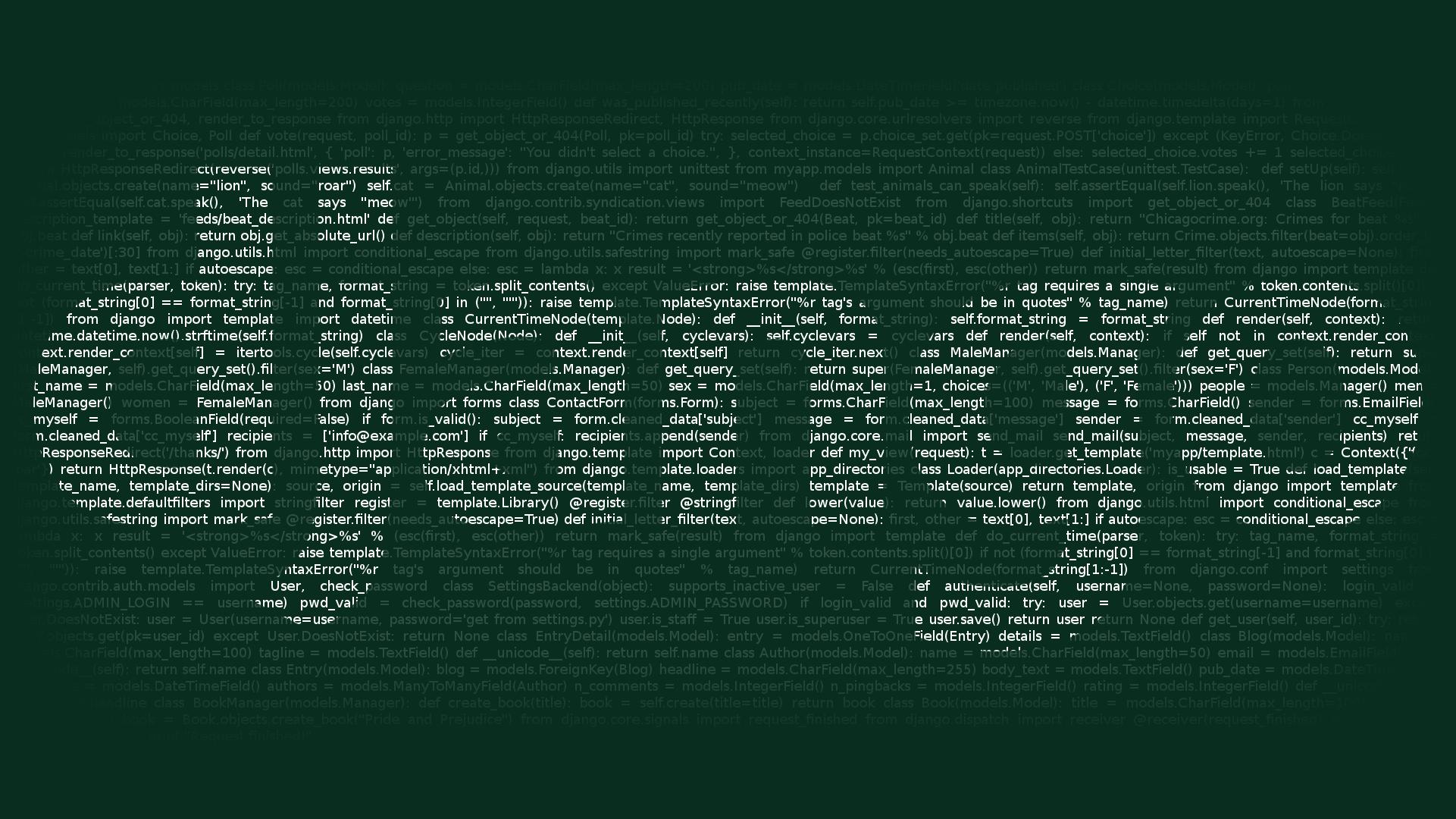 Django Developer