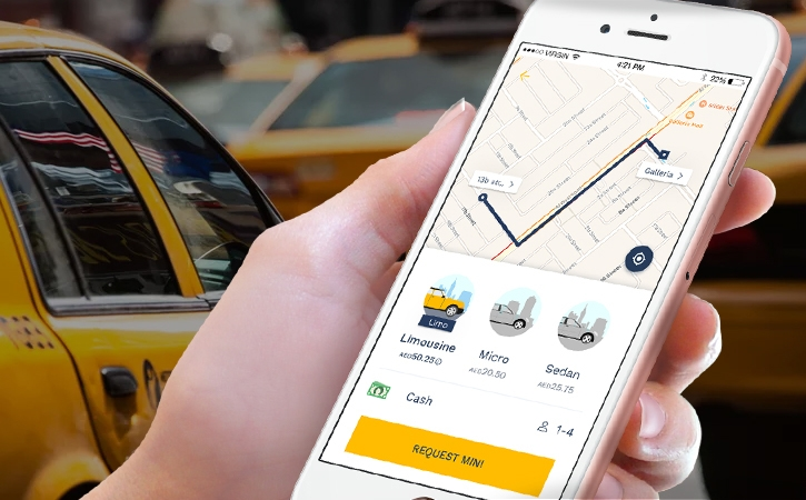 Developing Taxi assortment app or mobile website