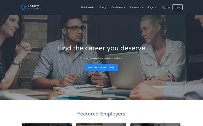 Best Freelance JOBIFY Theme Developers for Hire