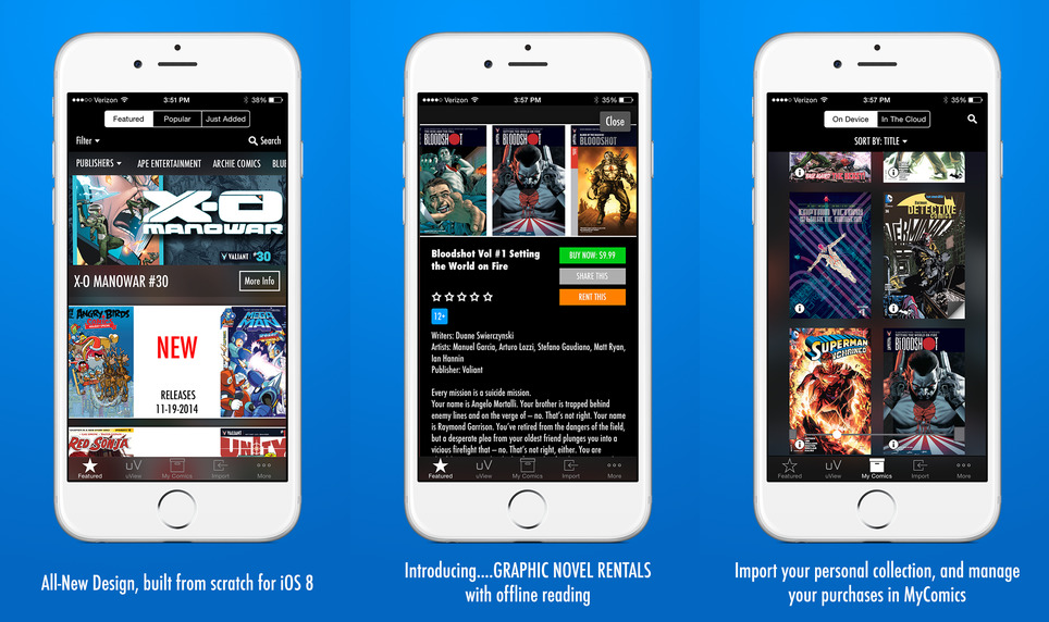 Comics Reader Mobile App Company & Services