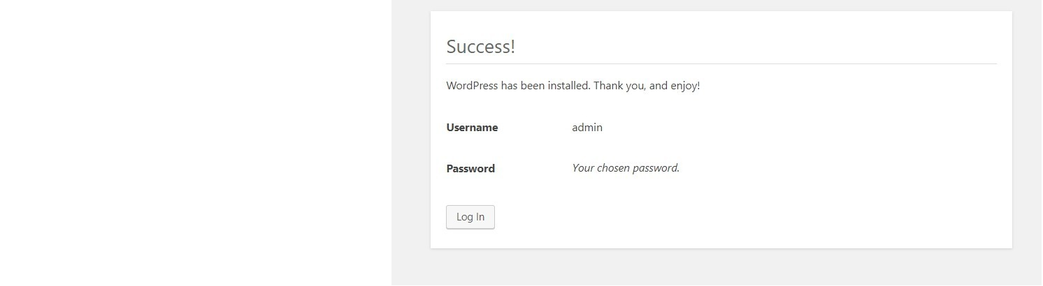Run WordPress