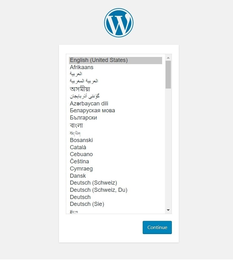Now run your website url