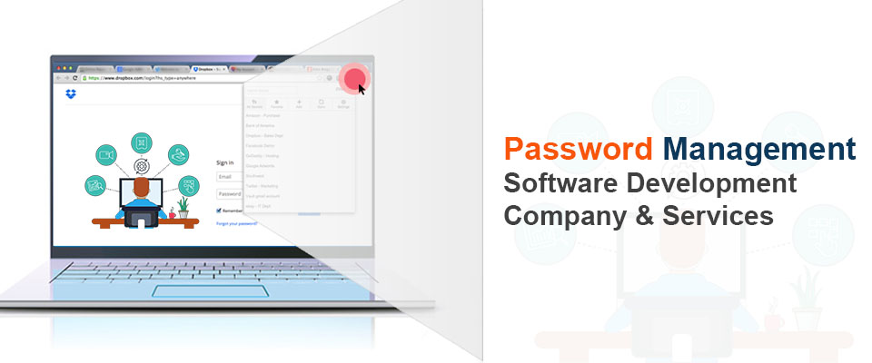 password management software development company & services