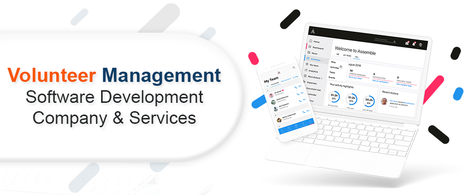 volunteer management software development company & services