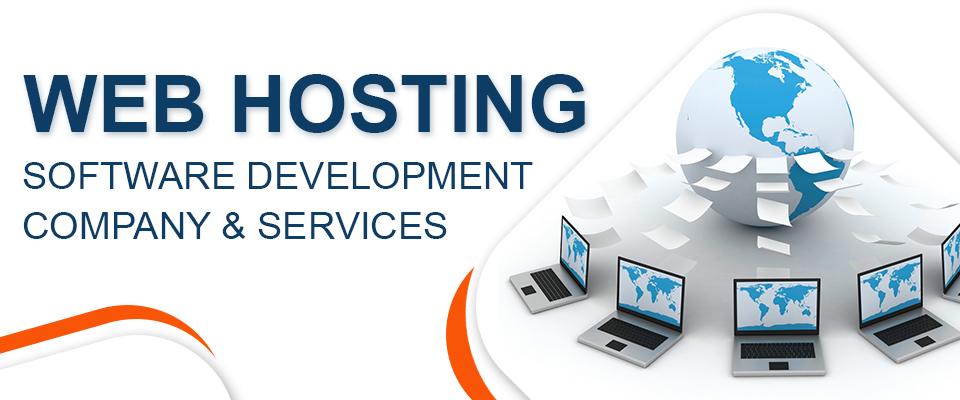 web hosting software development company & services.