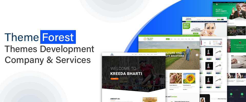 themeforest development company and services