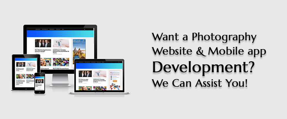 Photography Website & App Developers