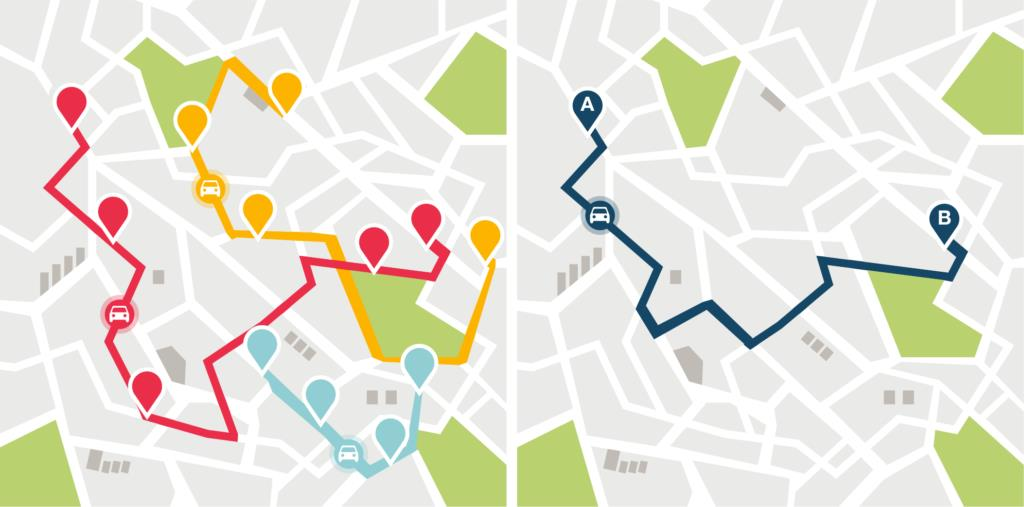 Google Maps vs Route Optimization Software