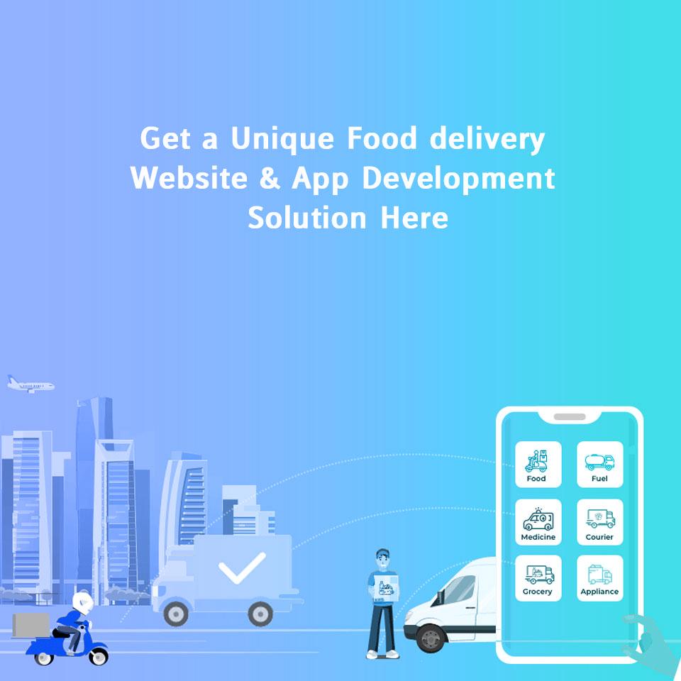 Food Delivery Website & App Development Companies