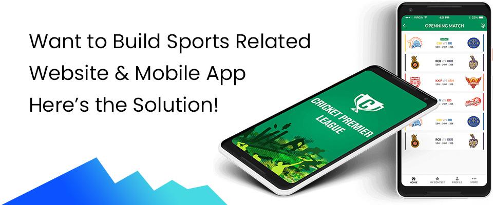 Athletics Website & App Development Company