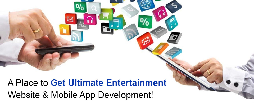 Entertainment Website & App Development Company