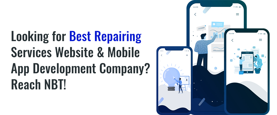 Repairing Services Website & App Development Company