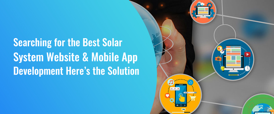 Solar Power Website & App Development Company