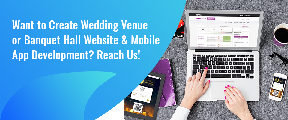 Wedding & Banquet Hall Website & App Development