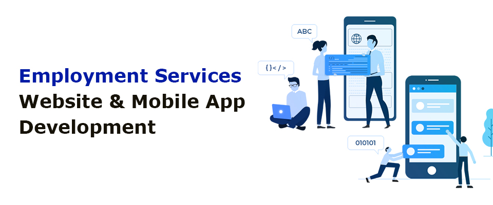Employment Services Website & App Development Company