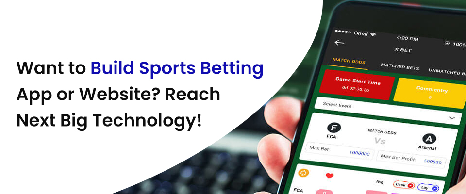 Sports Betting App & Website Development Company