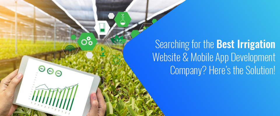 Irrigation Website & App Development Company