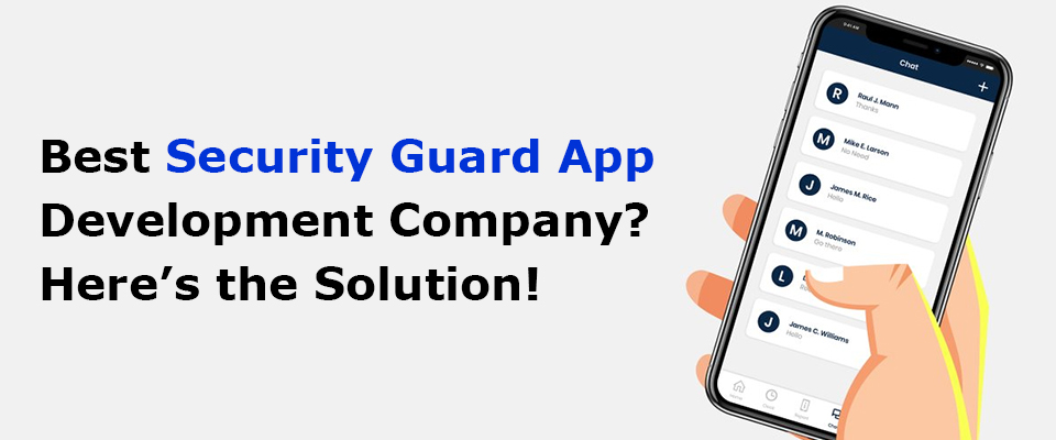Security Guard App Development Company