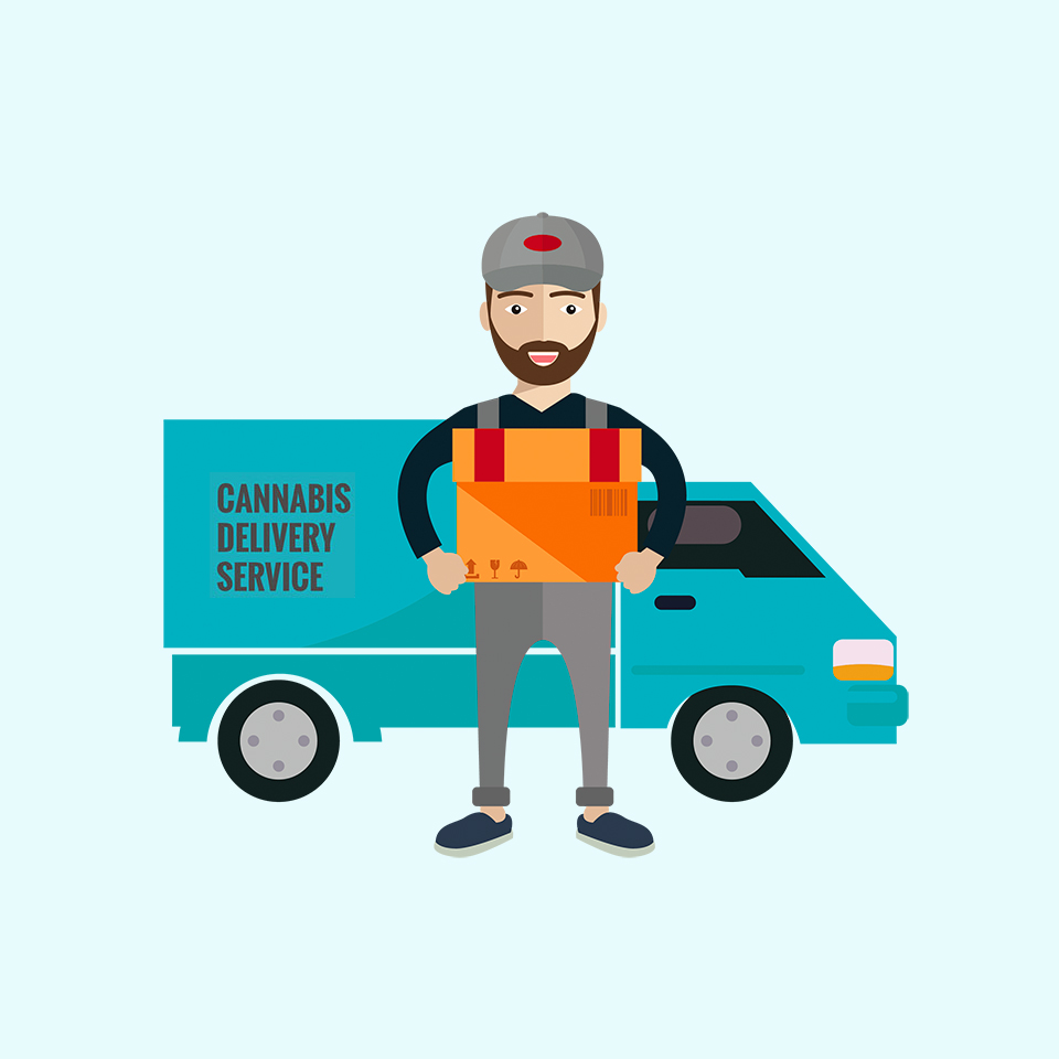 Cannabis Delivery Website & App Development