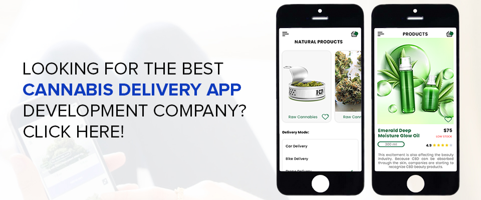 Cannabis Delivery Website & App Development