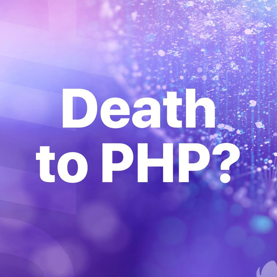 Death of PHP?