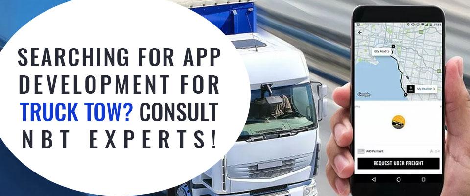 Truck Towing App Development Company