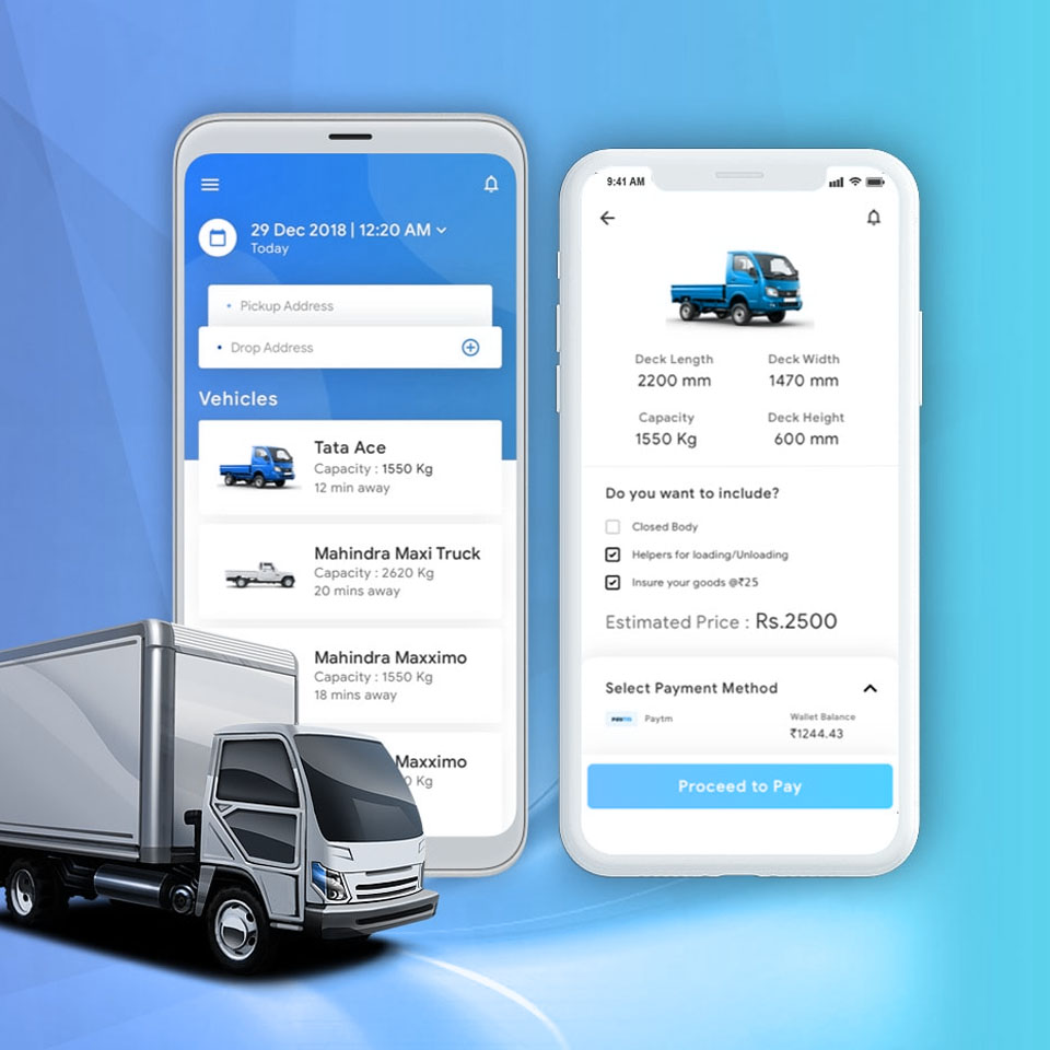 Logistics & Transportation App Development