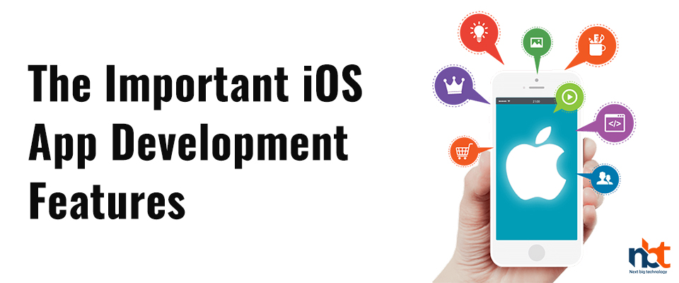 What are the characteristics of iOS applications in the development world