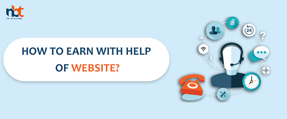 How to earn with help of website?