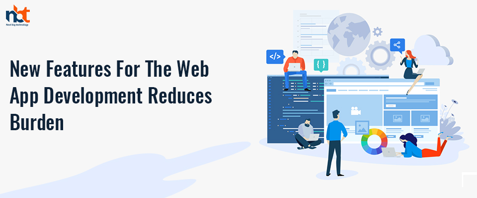 New functions for Web application development to reduce the load