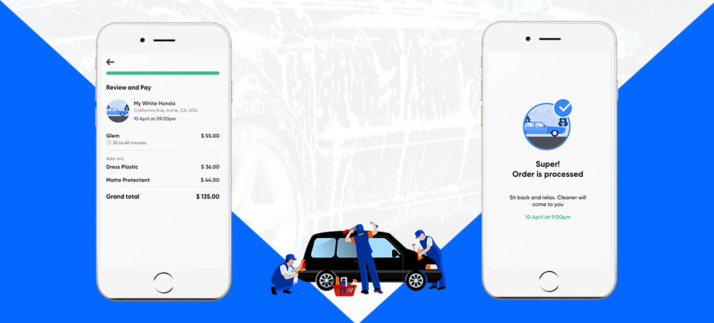 Car Wash Mobile Application Development