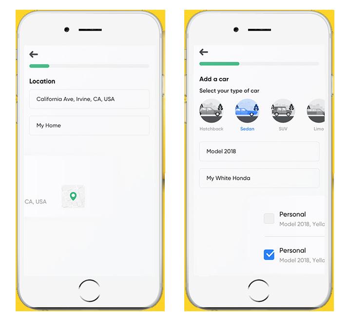 Car Wash Mobile App Development