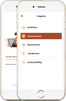 Custom Packers and movers app development services