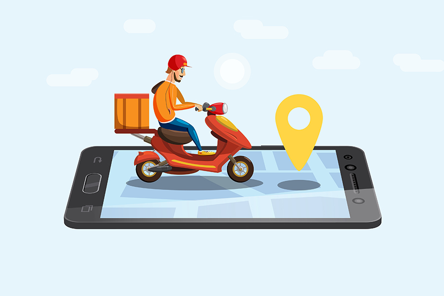 Have a glimpse on a working of food delivery app development