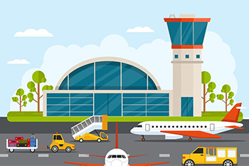 On-Demand App Airport Shuttle