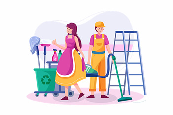 On-Demand Cleaning App