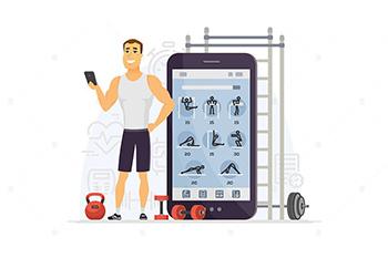 On-Demand Fitness App
