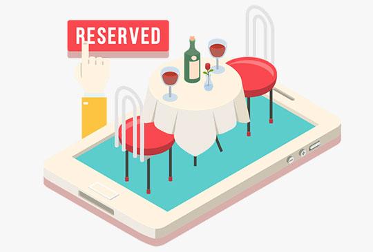 Restaurant-table-book