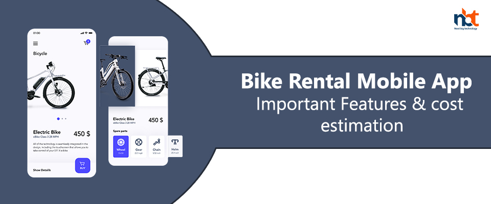 Bike Rental Mobile App – Important Features & cost estimation