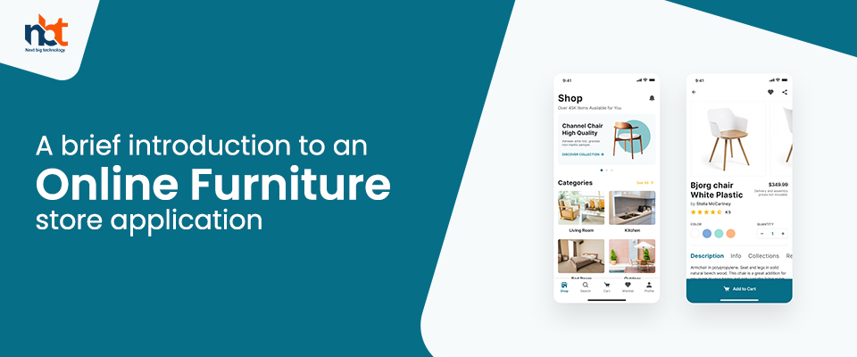A brief introduction to an online furniture store application
