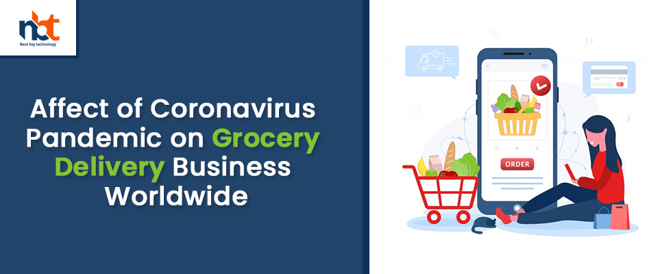 Affect of Coronavirus Pandemic on Grocery Delivery Business Worldwide