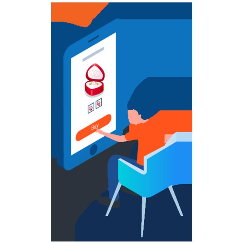 Jewelry eCommerce Mobile App Development