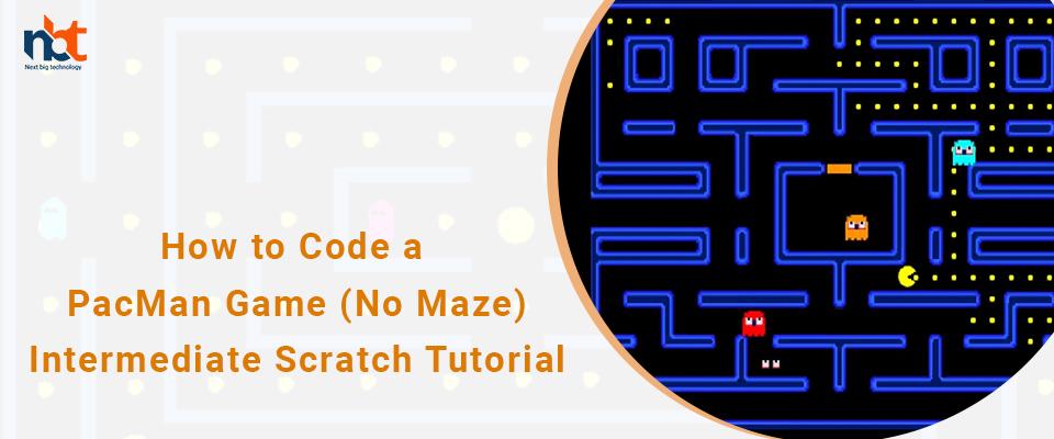 How to Code a PacMan Game (No Maze) | Intermediate Scratch Tutorial