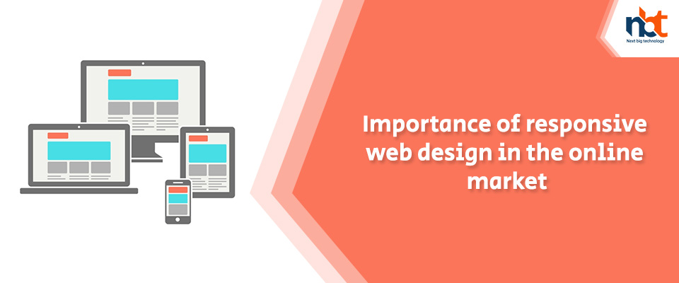 Importance of responsive web design in the online market