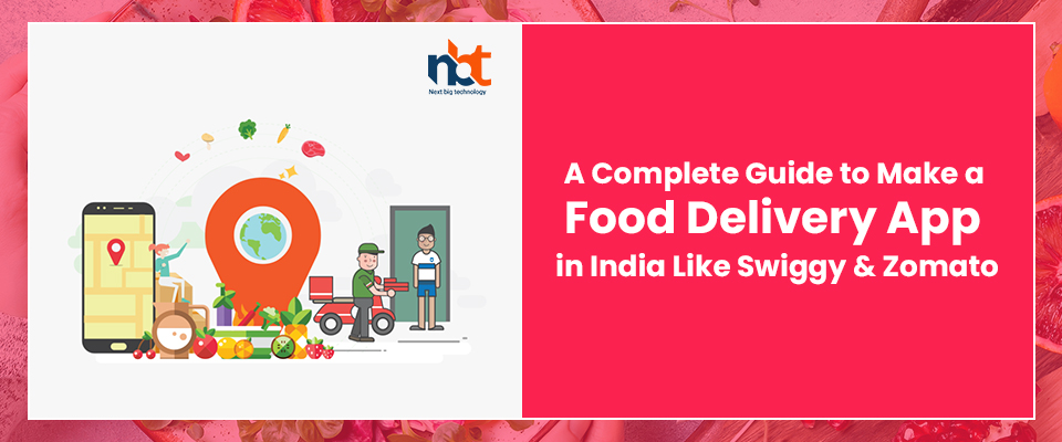 A Complete Guide to Make a Food Delivery App in India Like Swiggy & Zomato