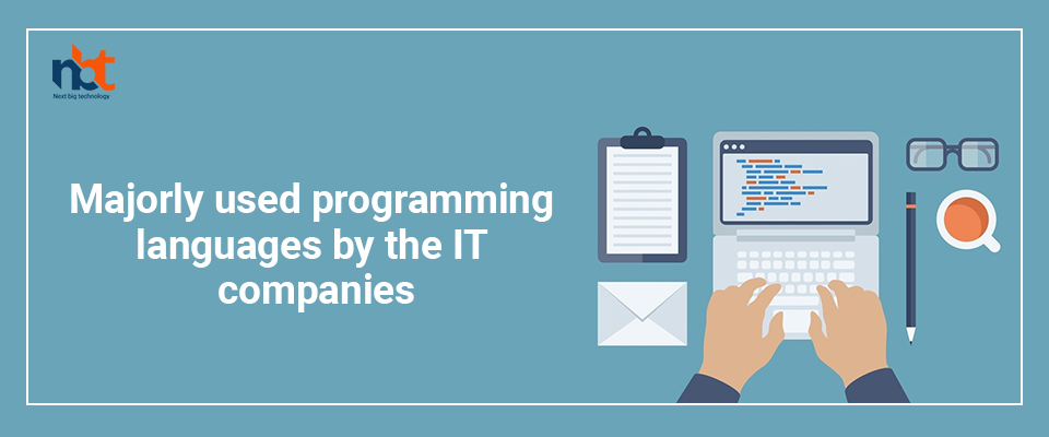 Majorly used programming languages by the IT companies