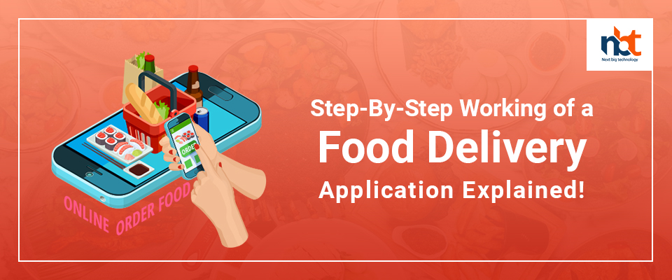 Step-By-Step Working of a Food Delivery Application Explained!
