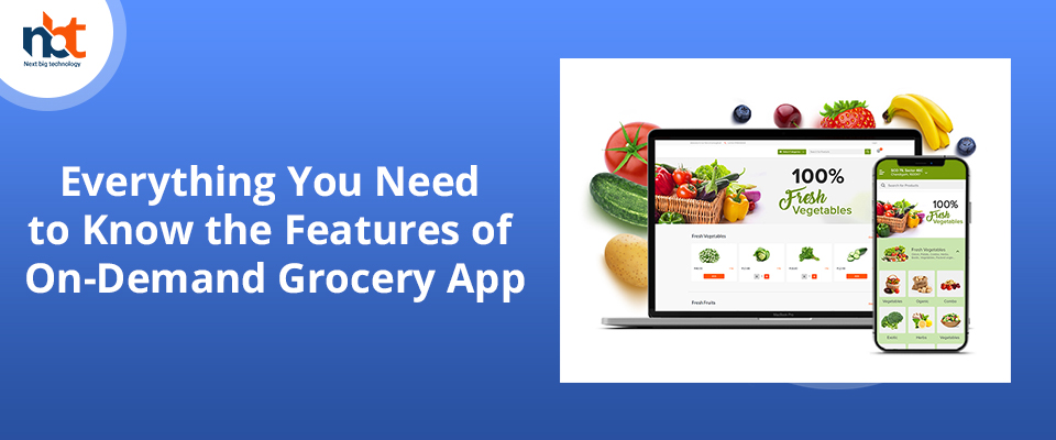 Everything You Need to Know the Features of On-Demand Grocery App