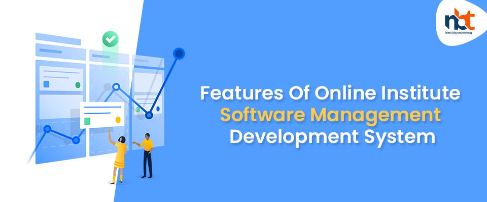 Features Of Online Institute Software Management Development System