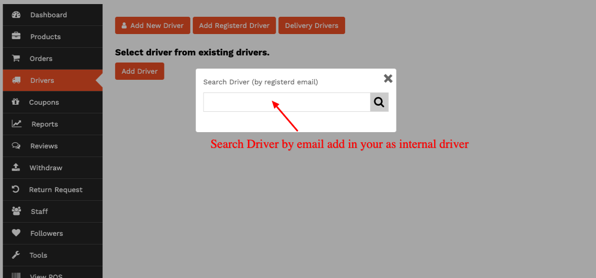 Search-and-add-driver